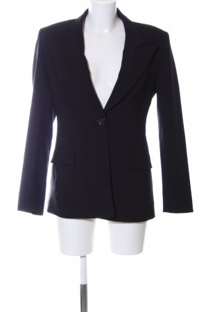 La city Long-Blazer schwarz Business-Look