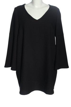 la cucuun Shirtkleid schwarz Casual-Look