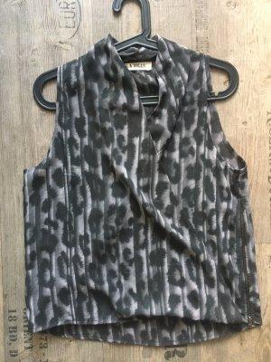 LA Dolls Kopertowa bluzka czarny-szary