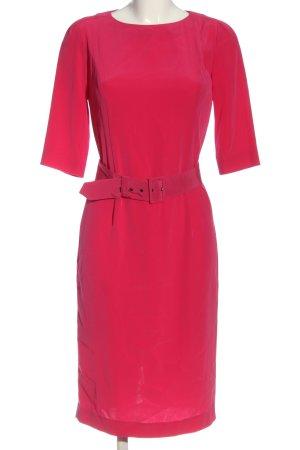 La Dress Midi Dress pink business style