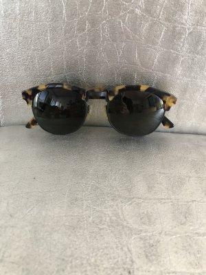 l.a. Eyeworks Pilotenbril zwart bruin Metaal