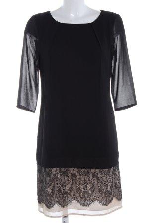 la fée maraboutée Blusenkleid schwarz Elegant
