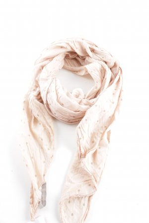 la fée maraboutée Halstuch creme-nude Punktemuster Casual-Look