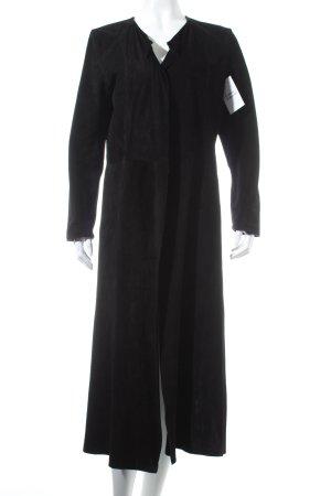 la fée maraboutée Leren jas zwart retro uitstraling