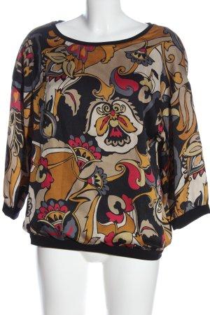 la fée maraboutée Schlupf-Bluse abstraktes Muster Business-Look