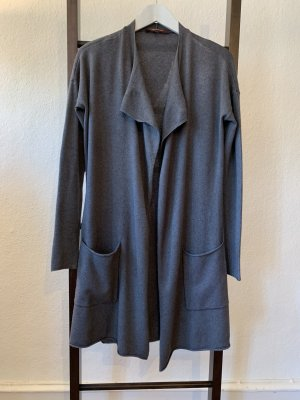 la fée maraboutée Abrigo de punto gris-gris oscuro Viscosa