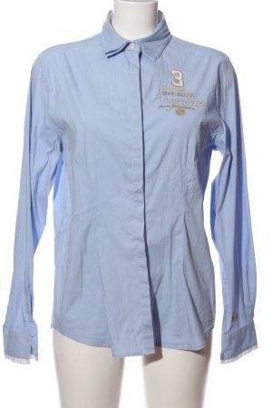 La Martina Hemd-Bluse blau Casual-Look