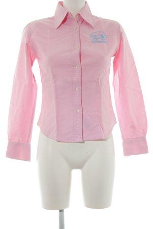 La Martina Hemd-Bluse rosa Casual-Look