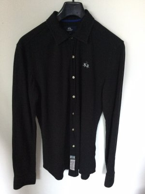 La Martina Long Sleeve Shirt black