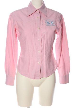 La Martina Langarmhemd pink Business-Look