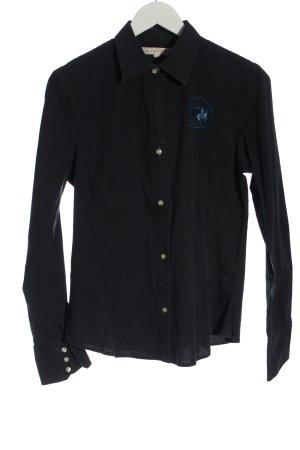 La Martina Long Sleeve Shirt black casual look