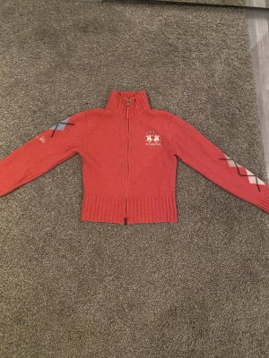 La Martina Giacca di lana rosso