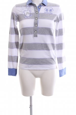 La Martina Polo-Shirt Motivdruck Casual-Look