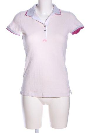 La Martina Polo-Shirt wollweiß-pink Casual-Look