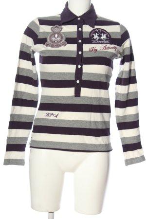 La Martina Polo-Shirt Allover-Druck Casual-Look