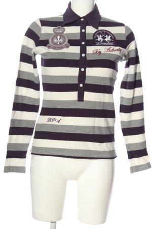 La Martina Polo Shirt allover print casual look