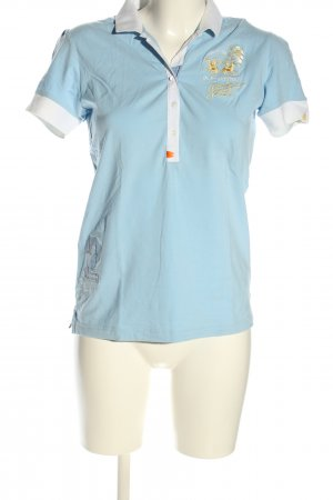 La Martina Polo Shirt embroidered lettering casual look