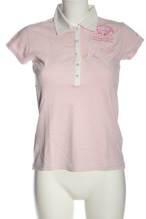 La Martina Polo Shirt pink casual look