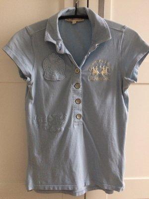 LA MARTINA Polo Shirt hellblau GR. XS