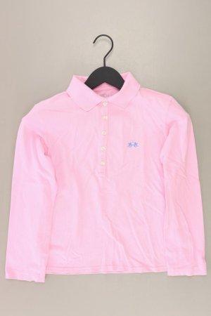 La Martina Poloshirt Größe S Langarm pink