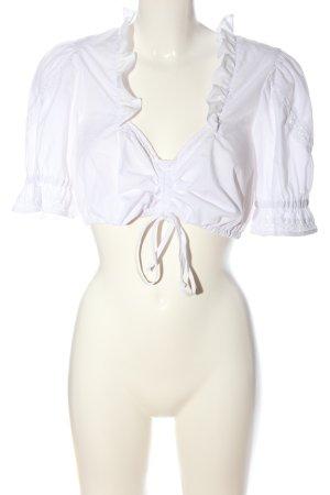 La Montanara Traditional Blouse white classic style