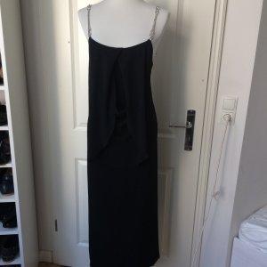 La Perla Cocktail Kleid mit Wasserfall Ausschnitt Gr. 38