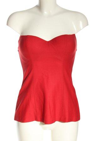 La perla Top gorsetowy czerwony Ekstrawagancki styl