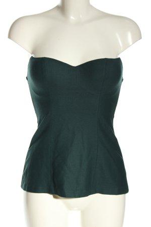 La perla Corsage Top green elegant