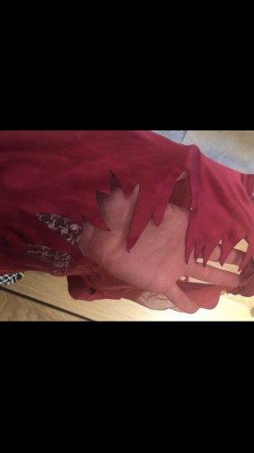 La perla Negligé rojo-carmín