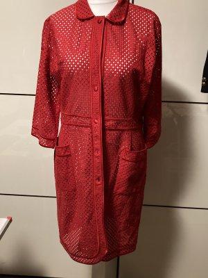 La perla Dressing Gown brick red