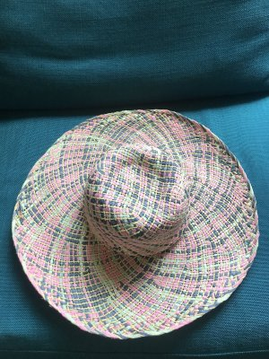 La perla Straw Hat light pink