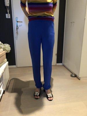 La perla Pantalon cinq poches bleu viscose
