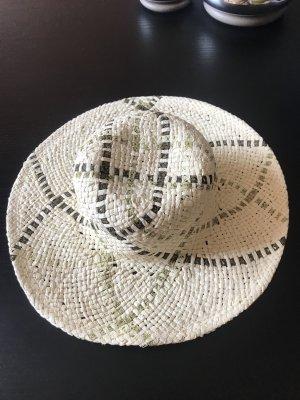 Studio la Perla Sombrero de ala ancha blanco puro-crema