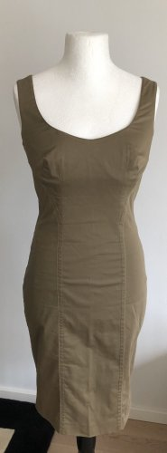 La perla Bustier Dress khaki mixture fibre