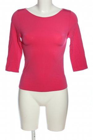 La perla Manica lunga rosa stile casual