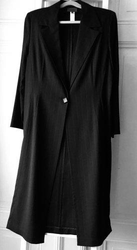 La perla Coat Dress black-anthracite viscose