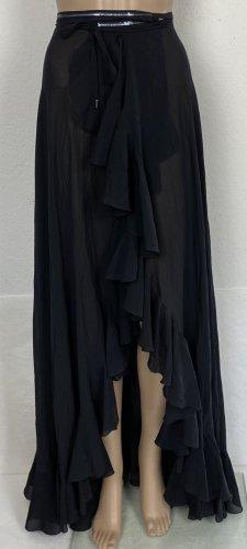 La Perla, Pareo Skirt, Schwarz, L/XL, Seide, € 920,-