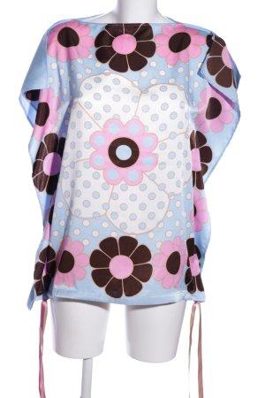 La perla Schlupf-Bluse Blumenmuster Casual-Look