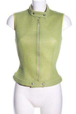 La perla Sportweste grün Casual-Look