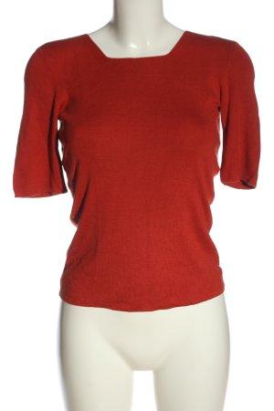 La perla Camicia maglia rosso stile casual