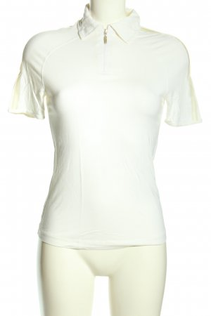 La perla T-Shirt weiß Casual-Look