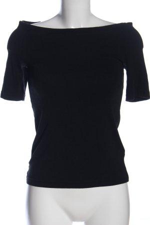 La perla Boatneck Shirt black casual look