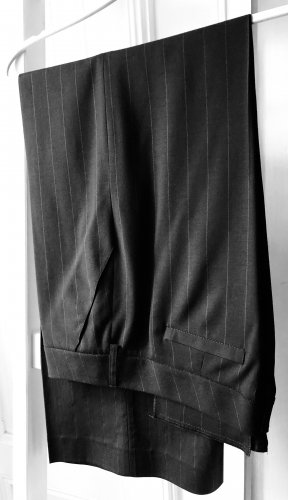 La perla Pantalón tipo suéter negro-gris antracita Viscosa