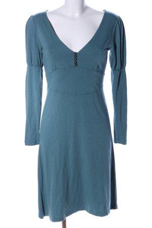La Redoute Creation Langarmkleid blau Casual-Look