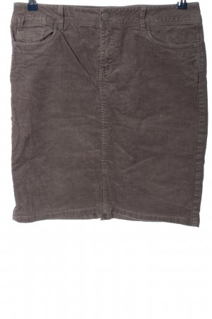 La Redoute Jupe stretch brun style décontracté
