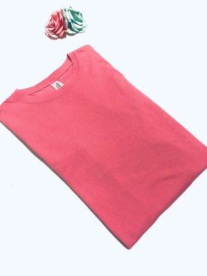 Gildan Manica lunga rosa Cotone