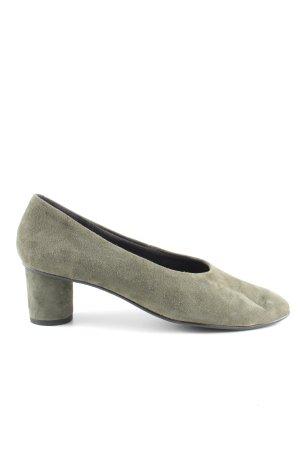 La Shoe Keil-Pumps khaki Casual-Look
