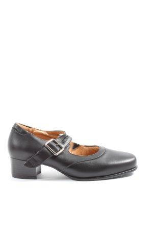 La Shoe Tacones Mary Jane negro elegante