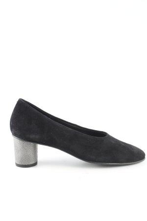 La Shoe Escarpins Mary Jane noir style décontracté