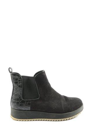 La Strada Chelsea laarzen zwart casual uitstraling
